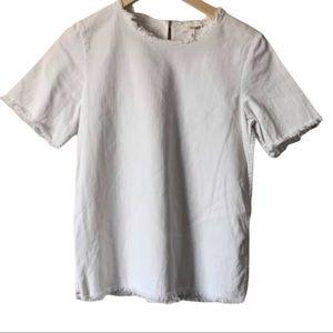 | WILFRED FREE | Denim short sleeve top